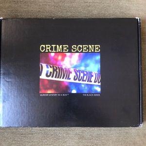 Murder Mystery in a Box.